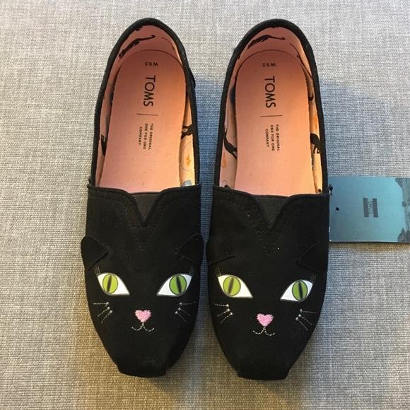 Toms Shoes | Black Cat Size 95 Nwt